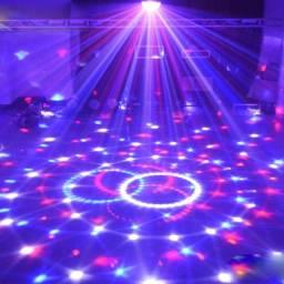 Globo de festa bola maluca /Jogo de luz iluminação balada DJ