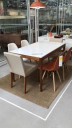 Conjunto Mesa Tok Stok 6 cadeiras