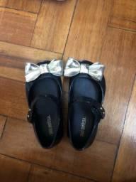 Sapato Melissa original. Tamanho 20/21
