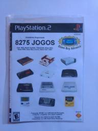 Coleção de 8275 Jogos para PS2