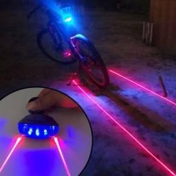 Luzes Traseiras Para Bicicleta Com Luz Led