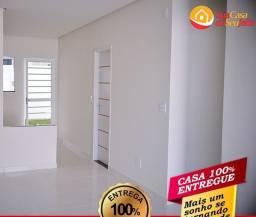 Casa de 2 quartos com suíte, no conjunto Aguas Claras