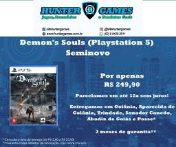 [Seminovo] Demon's Souls Playstation 5 (PS5) 12x Sem Juros Mídia Física 100% em Português
