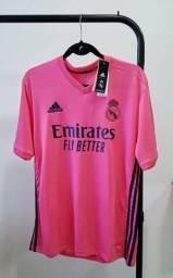 Camisa Real Madrid nº 2 Rosa!