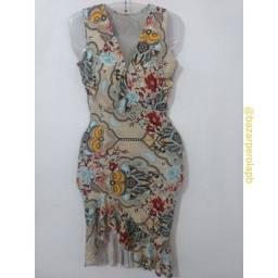 Vestido Estampado de Malha