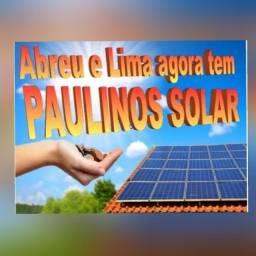 Placas Solar instaladas e omologadas!
