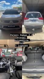 Pajero Dakar 3.2 automática com 7 lugares ideal para toda família.