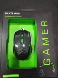 Mouse Gamer Multilaser com Mousepad