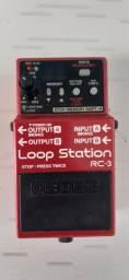 Boss loop rc3 semi novo com fonte 915 a vista