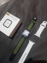 Smart Watch IWO2 Model W34S + Pulseira F8 + Carregador