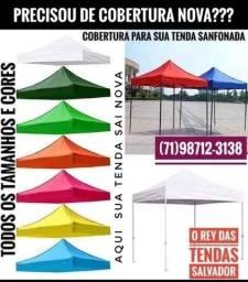 Cobertura para sua tenda sanfonada Tam.3x3 lona superior do seu toldo leia a anúncio