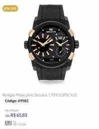 Relógio seculus ALL stainless 5 atm.. $ 300,00