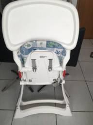 Cadeira de alimentação Bon Appetit XL, Burigotto, Azul