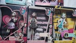 *lote* 5 bonecas Monster high