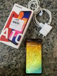 Samsung A10 32gb Vermelho troca por Iphone