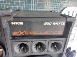Caixa de Som NKS excellence 600W