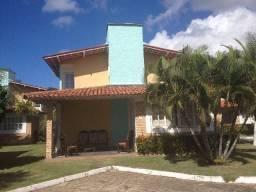 Casa pé na areia, condomínio fechado, 4 quartos praia Sonho Verde, próximo Maceió