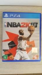 NBA 2K18 - PS4 - Mídia Física - Somente Venda