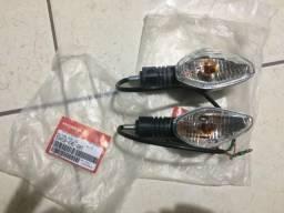Pisca Seta Dianteira e Traseira Esquerda Cg Titan Fan 150 160 Original
