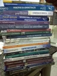 Coleção de livros de administração