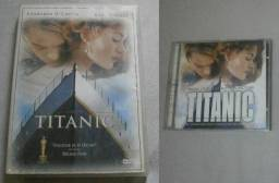 Lote Original Titanic - DVD + CD Trilha Sonora