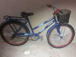 Vendo bicicleta azu aro 26 top