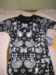 Camisa Long Line Tamanho M