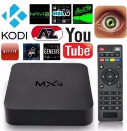 Smart Tv Box Mxq4k Android Netflix Youtube - Ultra Hd