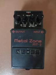 Pedal de distorção / distortion Metal Zone da Boss (MT-2)