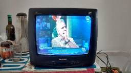 Tv 14 polegadas Sharp home vision