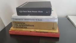 Lote de Livros - Arquitetura