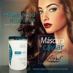 Máscara Hidratação Intensiva Caviar Hair WGW 1kg