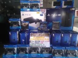 PlayStation 4 Slim HD 1000 Gigas NOVO +30JOGOs BRiNDE +06MESEs GARAnTIA