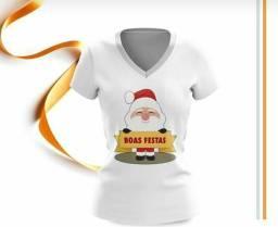Camisa para natal e final de Ano Lindas