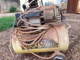 Compressor motomil 120lbf 24lt 2hp