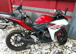 Imperdível., Linda Moto Yamaha Yzf R-3 321 Cilindradas 2015-2016 - 2016