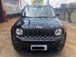 Jeep Renegade Sport 1.8 Mec 2016 - Único Dono - Impecável - Preto (Baixou Pra Vender) - 2016