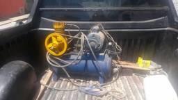 Compressor de pistão (reformado recentemente)