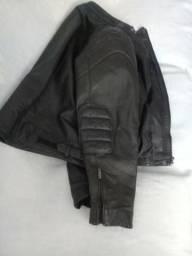 Casaco motociclista de couro legitimo tamanho XG