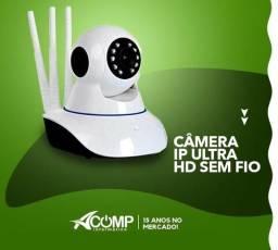Camera Ip Ultra HD 3 Antenas Wifi Visão Noturna 3° Geração