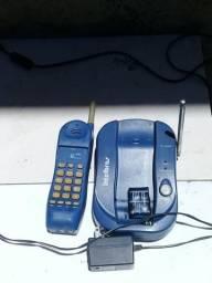 Telefone fixo intelbras em funcionamento