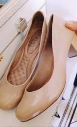 Sapato nude beira rio muito macio