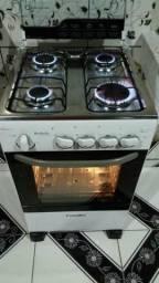 Excelente fogão Esmaltec automático conservadíssimo