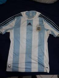 Camisa Argentina original tam M a61b773a25a5f
