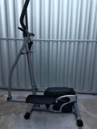 Elíptico magnético athletic works mtdp-408e com painel led