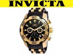 bd11afa7765 Relógio Invicta 22344 Ouro 18K Original em 12X 01 Ano Garantia Somos Lider  em Vendas