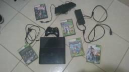 Xbox 360 Seminovo + Kinect + 5 jogos