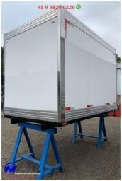 Camara frigorífica 2,80m para HR Kia Bongo nova Mathias implementos
