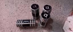 Vendo 4 Apoios de BMX Seminovos
