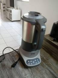 Liquidificador Soup Stile Arno 127V em Aço Inoxidável 1100W com Copo de 2L